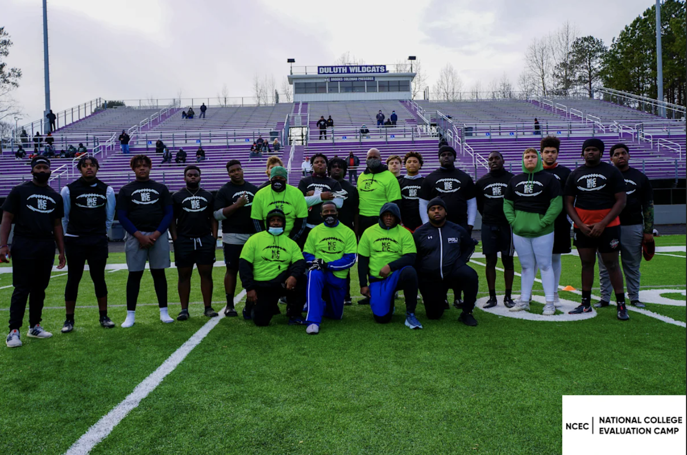 NCEC Atlanta Combine Camp Season at Duluth GA Reveals New Talent and Powerhouse Players to Watch Out