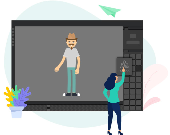 Mango Animate's Animated Character Generator Is Ideal for Simulations