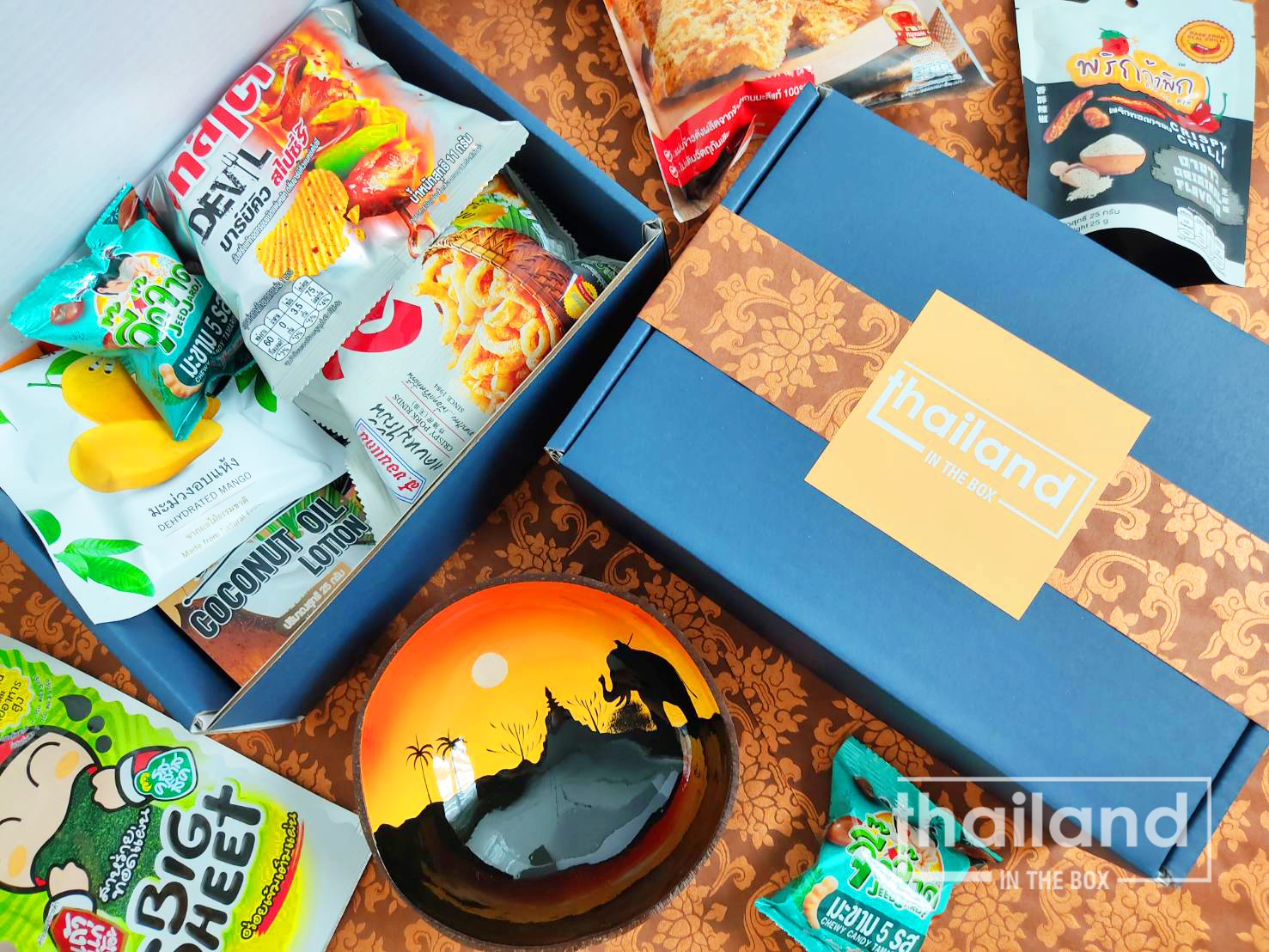 Thailand In The Box Promotes The Rich Thai Culture Through Snacks And Sweets