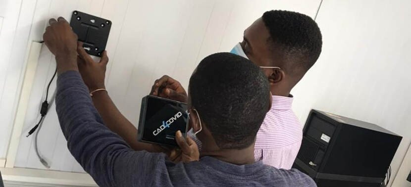 Delft Imaging fights COVID-19 with its CAD4COVID innovation across Ghana
