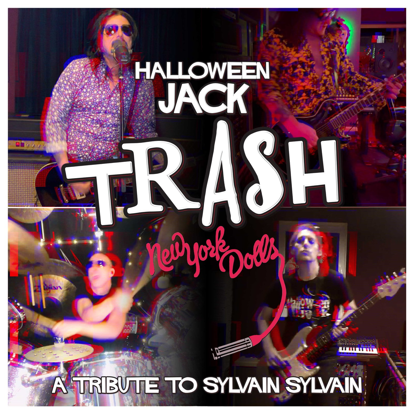 "Halloween Jack Releases Cover ""TRASH"" Video as Tribute to New York Dolls' Sylvain Sylvain"