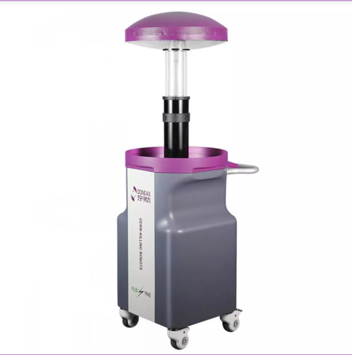Study on the application of pulse ultraviolet disinfection robot in isolation ward of hospital