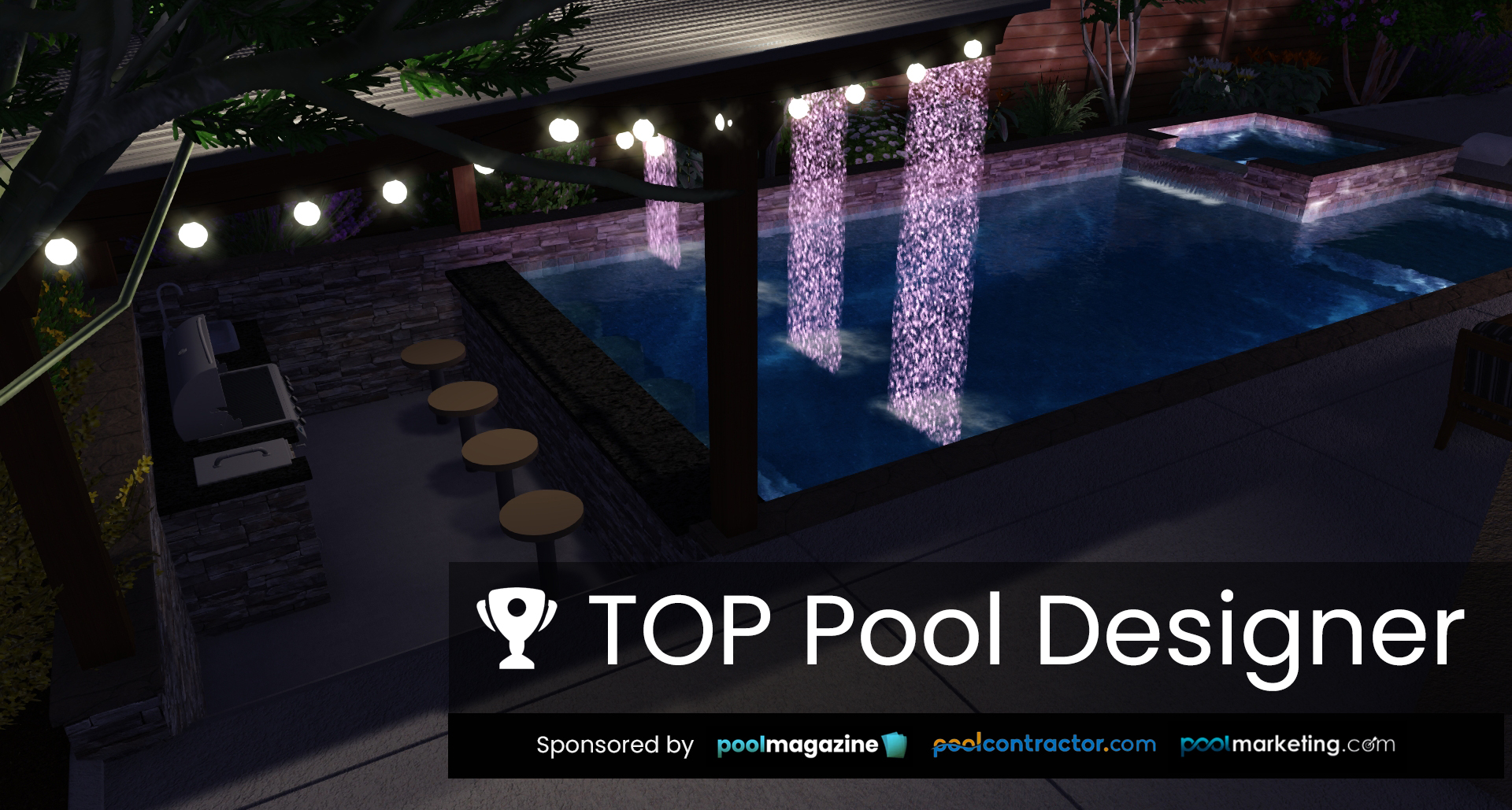 New Pool Design Competition: America's Top Pool Designer
