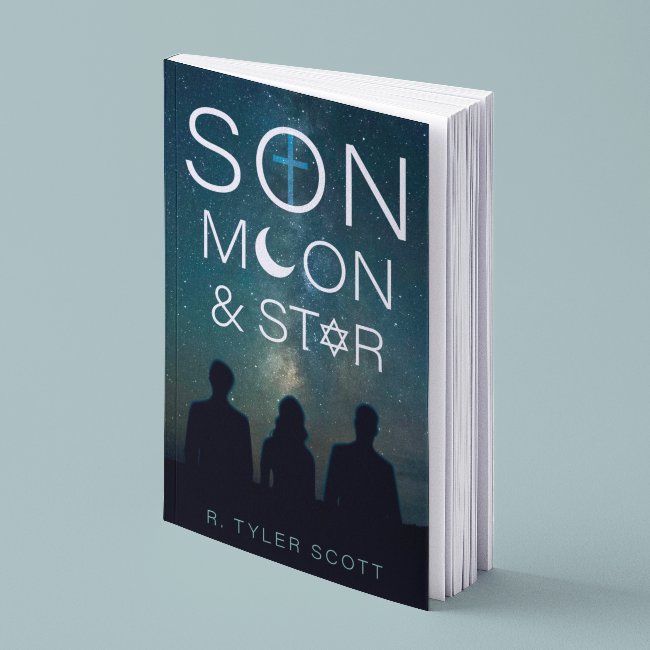 Son, Moon and Star - Amalgamation of different Religions, Cultures, and ethnicities into the common thread of Brotherhood.