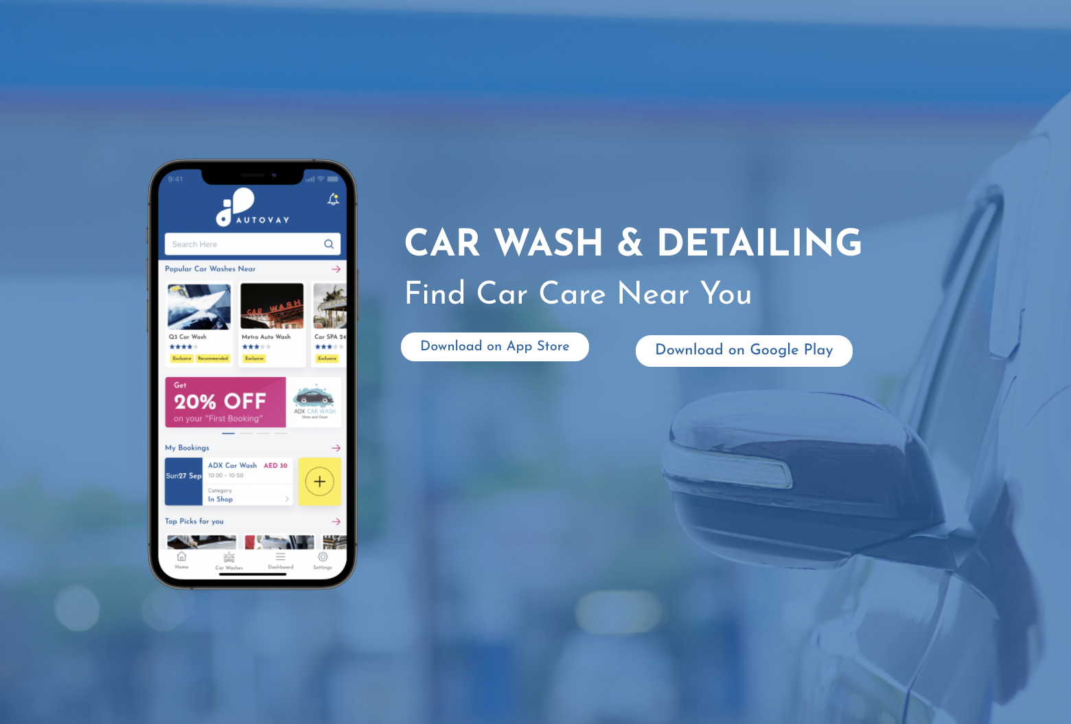 Autovay Mobile App Introduces UAE Residents To Car Wash and Detailing Services in the Region