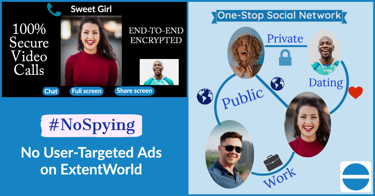 ExtentWorld Builds All-Encompassing Social Media Platform To Rival Facebook's Privacy Policy