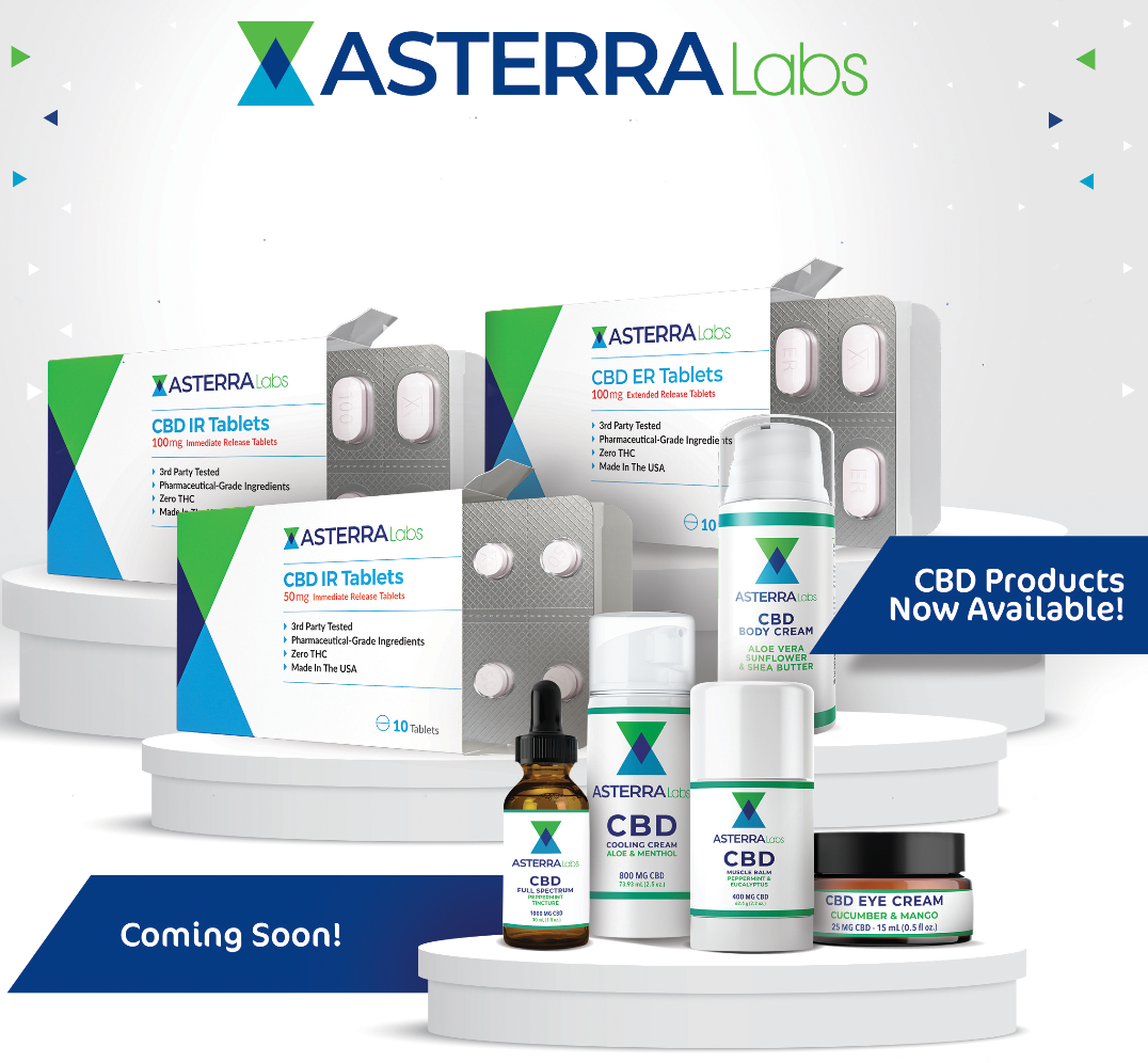 Asterra Labs is utilizing Mr. Checkout's Fast Track Program to reach Independent Pharmacy Stores Nationwide.
