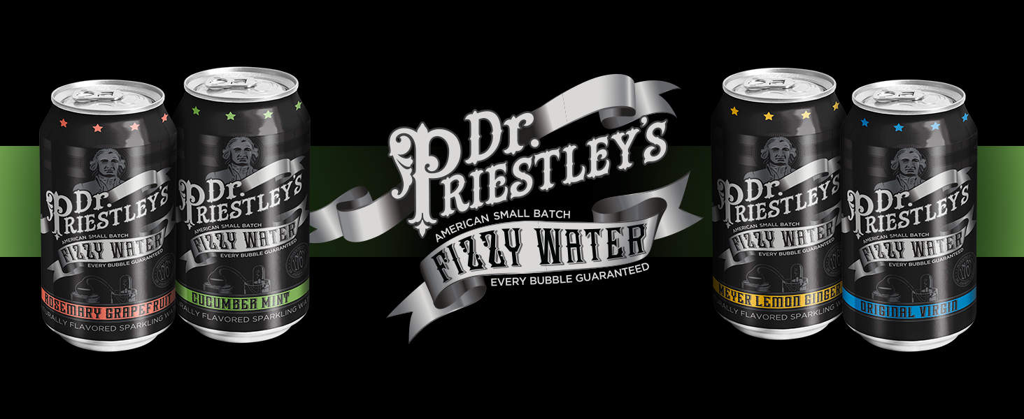 Dr. Priestley's Fizzy Water is now offered Nationwide Through Mr. Checkout's Direct Store Delivery Distributors.