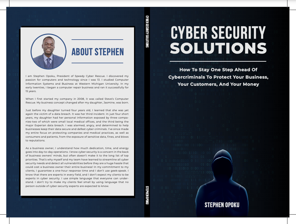 Stephen Opoku Exposes Secrets Of Cybercriminals, Shows Business Owners How To Protect Their Network In His New Book