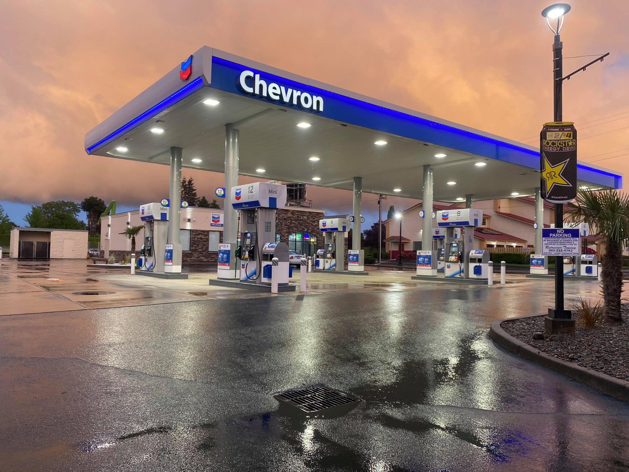 2021 Update: Chevron Salem Goes Nearly Touchless at The Pump in During Covid-19 Pandemic