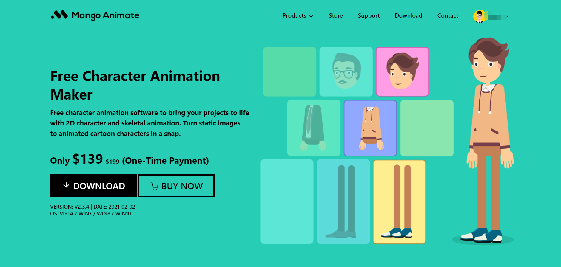 Build Characters With Mango Animate's Avatar Video Creator
