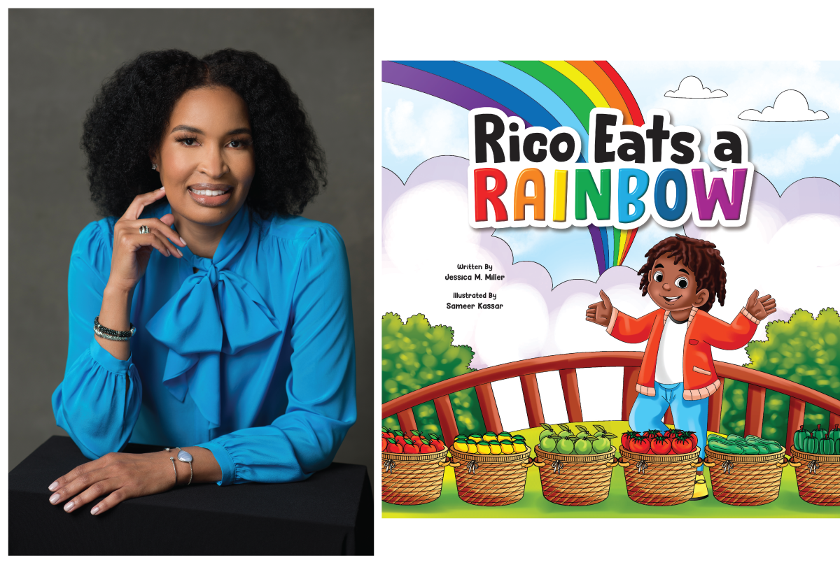 Rico Eats a Rainbow: Jessica Miller's Fun and Insightful New Book.