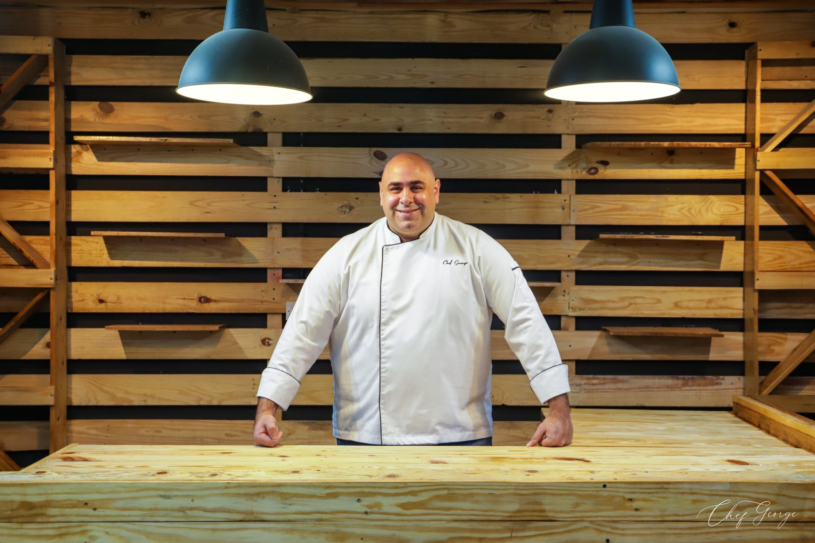 Chef George Ghorayeb is the Owner of the Largest Biryani Dish in Qatar