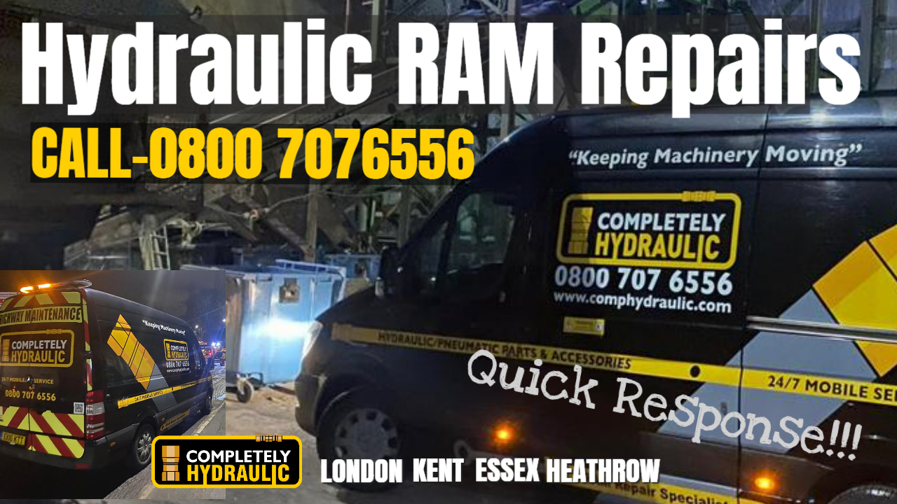 Completely Hydraulic's Essex Ram Workshop To Service London, Kent And Heathrow