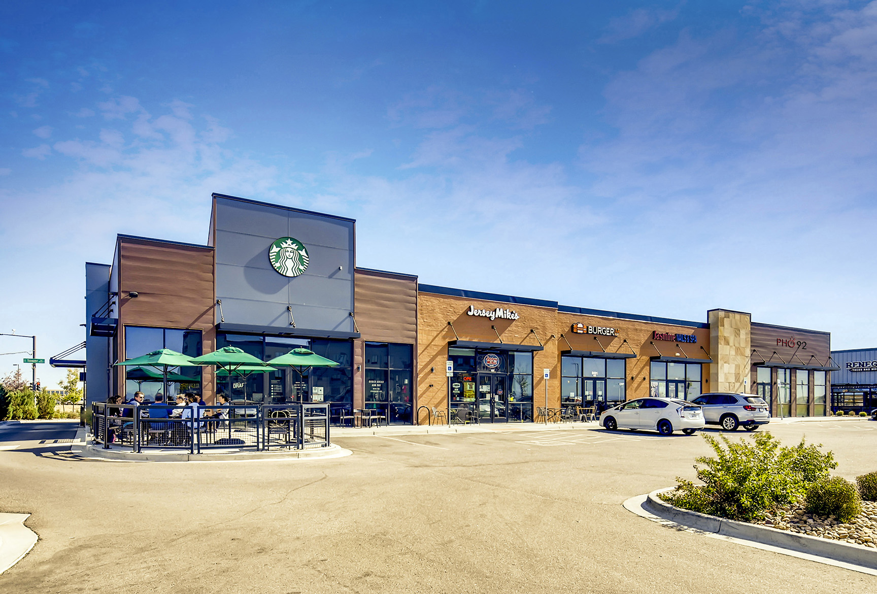 Hanley Investment Group Sells New Starbucks-Anchored Multi-Tenant Retail Building at Hotel Row in Denver for $5.6 Million