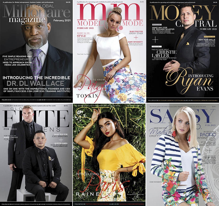 StarCentral Media Group has released this month's Movers & Shakers featuring: Dr. DL Wallace, Ryan Evans, Quintin James, Jojo Sebastian, Paris Raine, Madison Croft, and Paige Tonkin