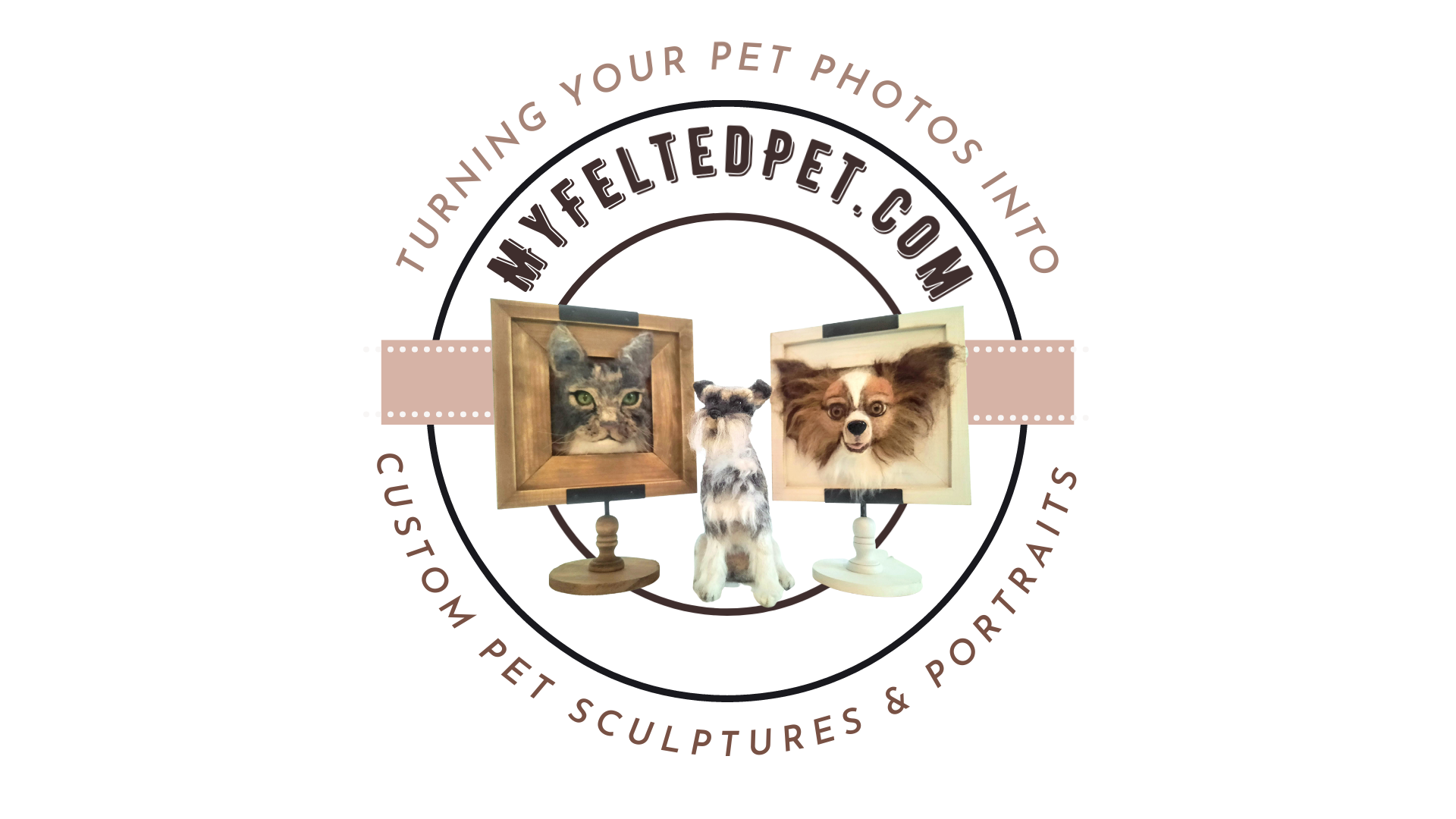 Introducing My Felted Pet, home of needle felted pet portraits and pet sculptures