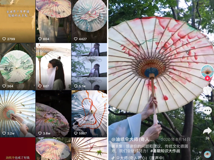 Rapid-fire Douyin videos revive faded craft glory