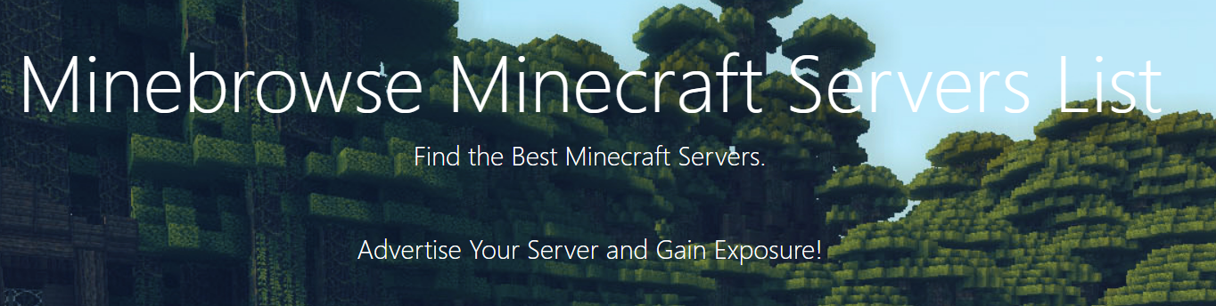 Minebrowse Unveils New Minecraft Server Advertising Services