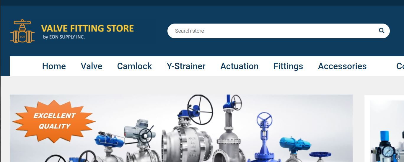 Valve Fitting Store Release New Platform to Purchase Valves Online