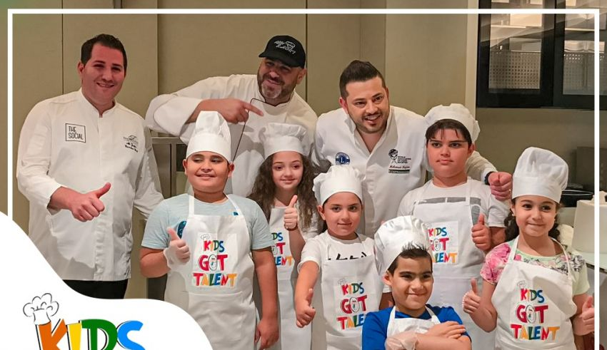 Chef Mohammad Najem Head of The Kids Got Talent Committee