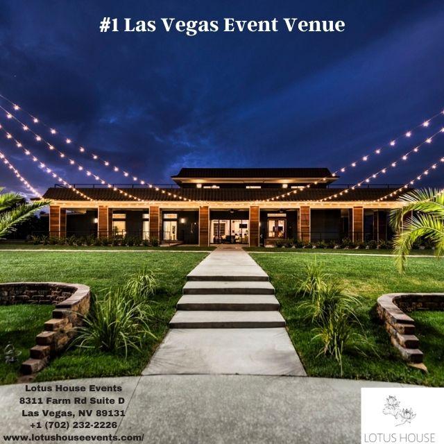 The Best Wedding & Party Venue in Las Vegas | Lotus House Events