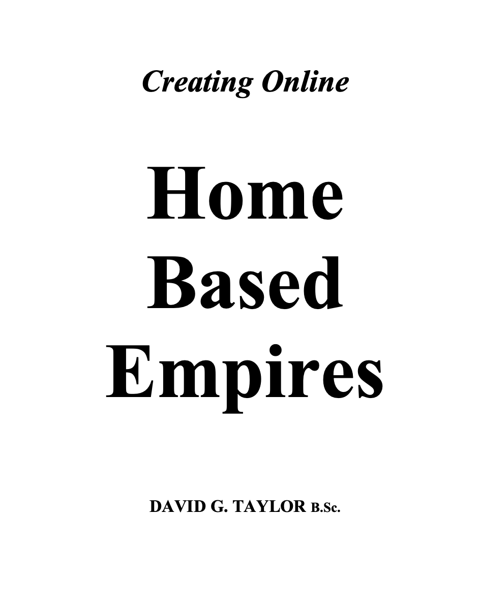Home Based Empires Releases Free Guide On How To Start An Online Business From Home