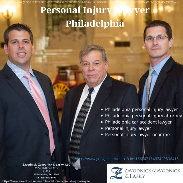 How to Find the Best Personal Injury Lawyer in Philadelphia | Zavodnick, Zavodnick & Lasky, LLC
