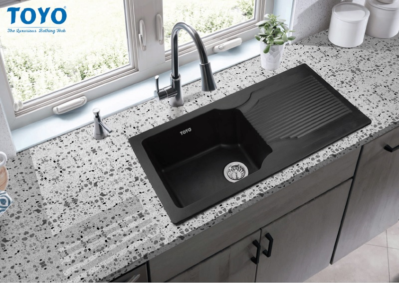 The Quartz Kitchen Sinks Launched By Toyo Sanitarywares In March 2021 Is An Instant Hit