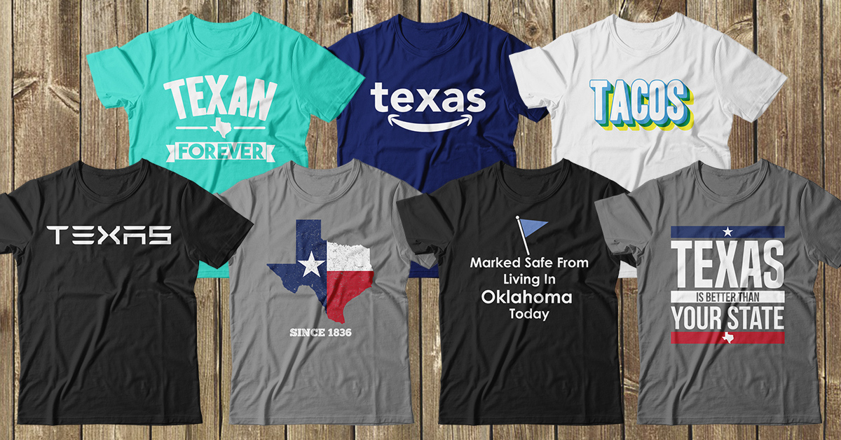 Texas T-Shirt Designer Donating Sales to Local Food Banks