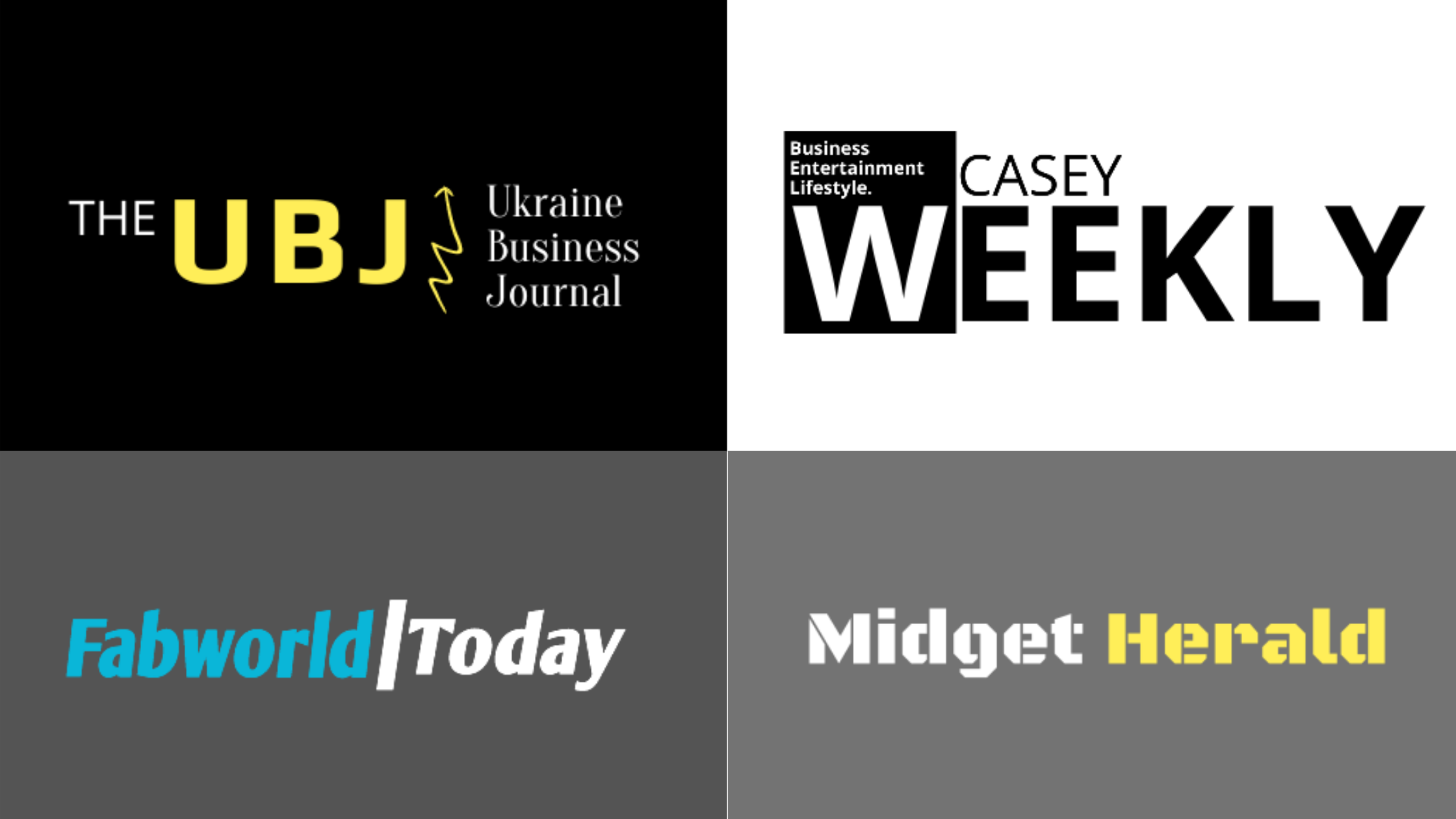 Casey Weekly, The UBJ, Midget Herald, Fab World Today Has Become The Best Choice of News Readers