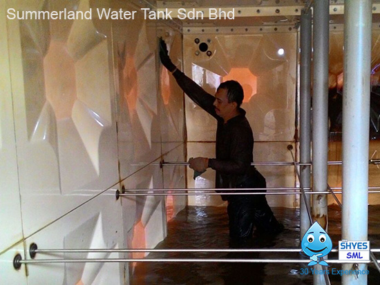 Summerland Water Tank Sdn Bhd raise public awareness about the cleanliness of water tank