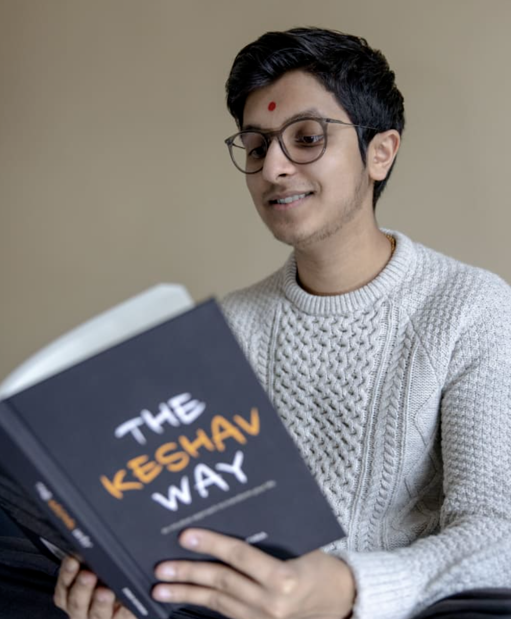 Vinay Sutaria Presents a New Outlook on Happiness With Newly-released Book 'The Keshav Way'