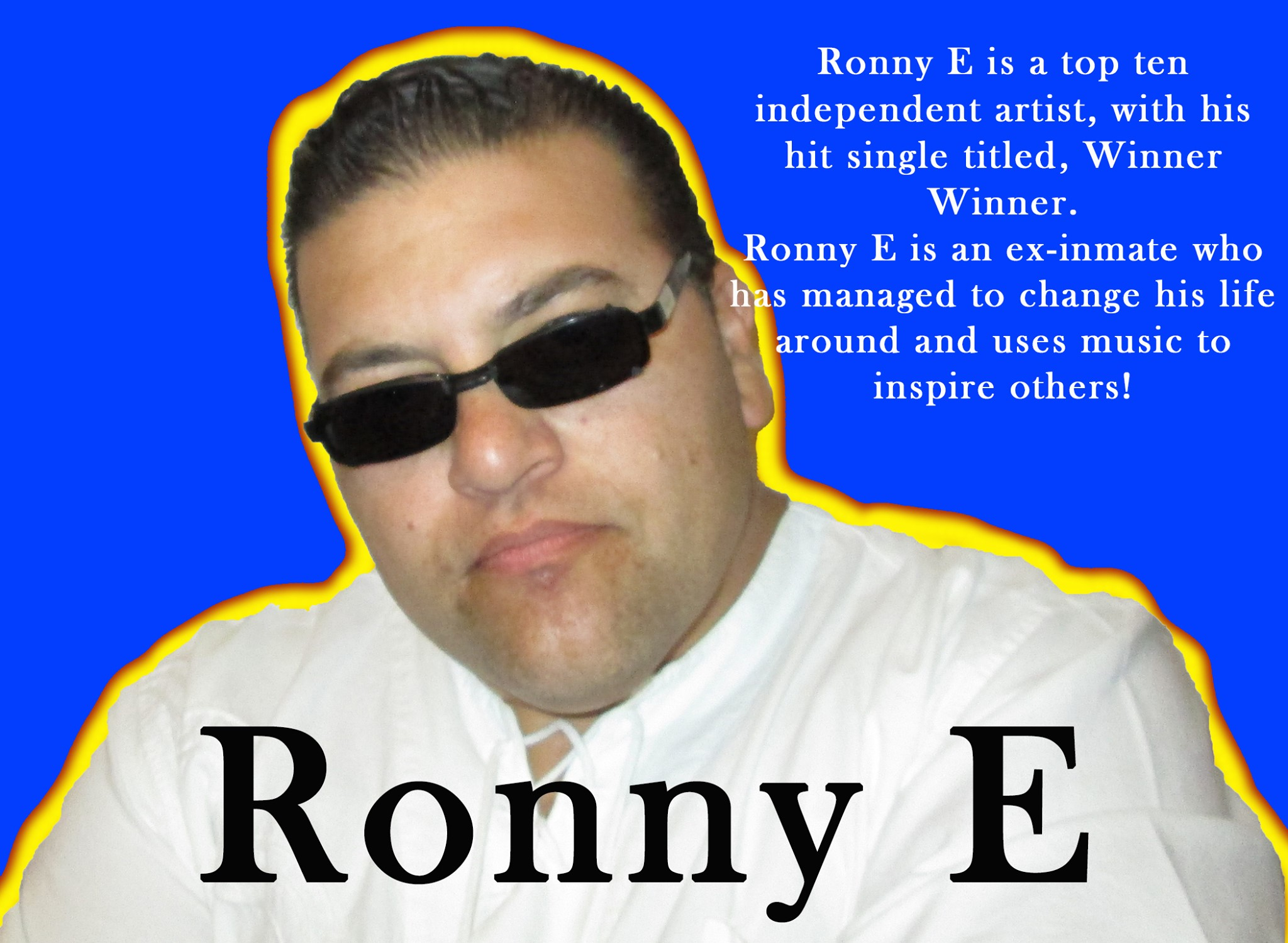 "Celebrity Chauffeur turned Hip-Hop Artist, Ronny E, has launched his much-anticipated rap track titled ""Winner Winner"""