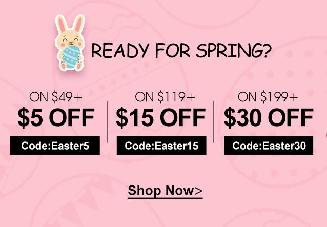 Jurllyshe Announced Shopping for Easter Collection Preview Begins Now On Mar. 25, 2021