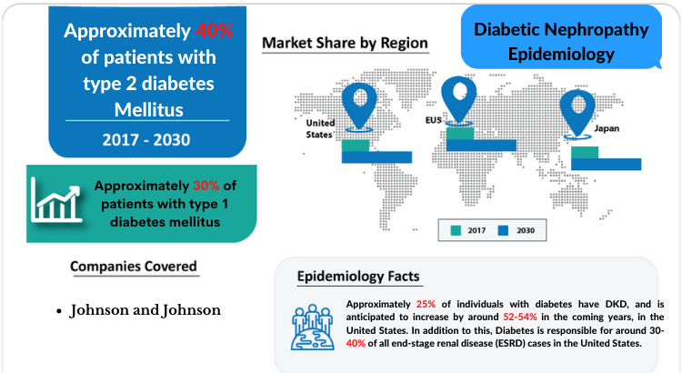 Diabetic Nephropathy Epidemiology report covers the descriptive overview of Diabetic Nephropathy, explaining its facts, and symptoms