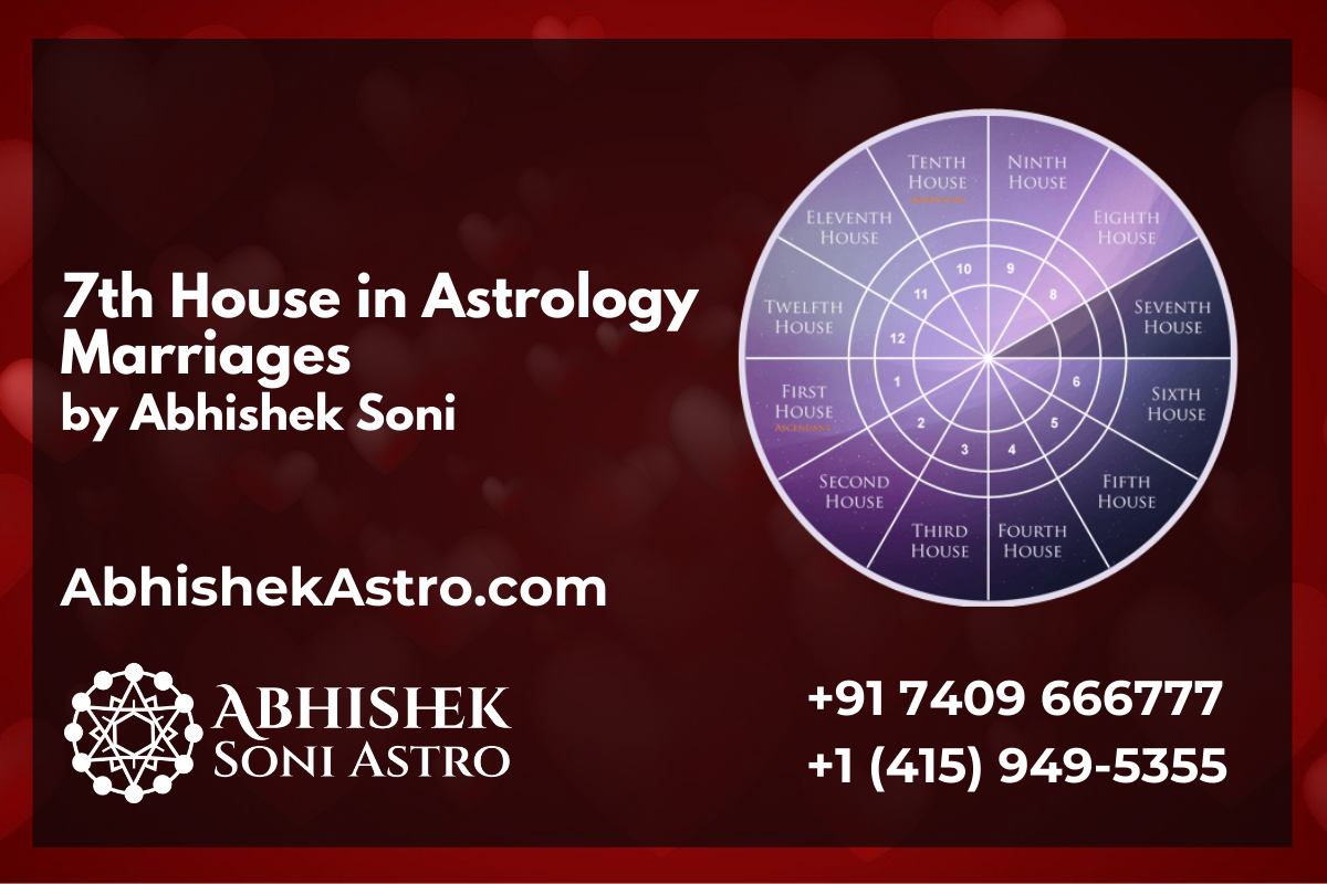 Astrologer Abhishek Soni explains 7th House and Marriage