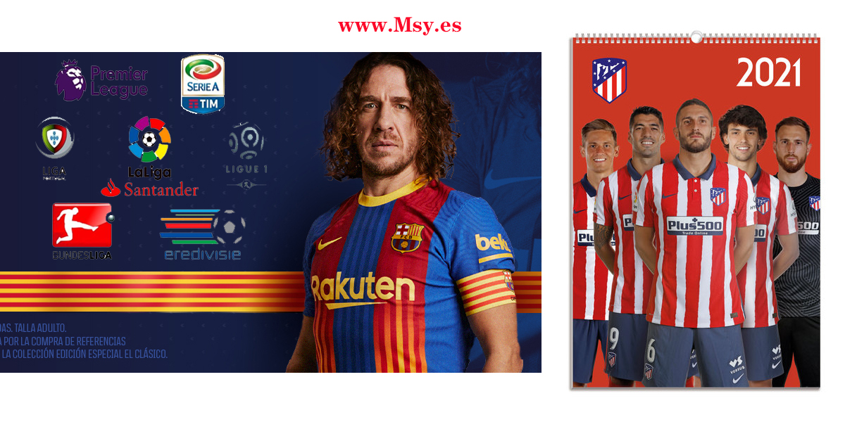 They filter the daring Barça and Atlético jerseys for next season
