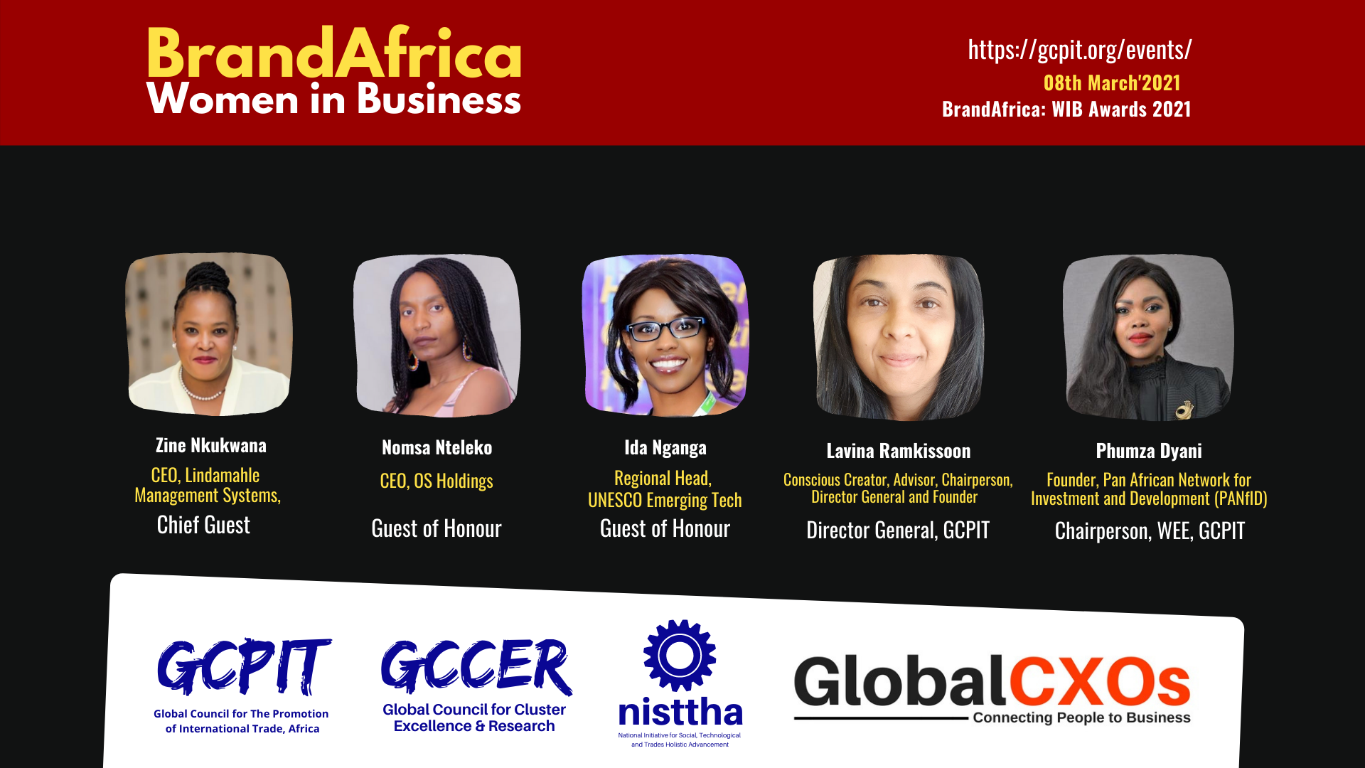 GCPIT South Africa honours twenty women entrepreneurs with BrandAfrica: Women in Business Awards 2021