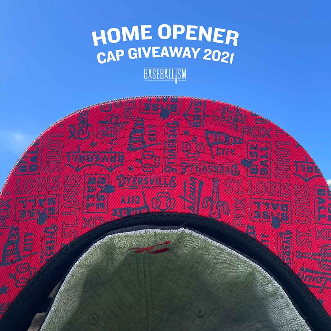 Baseballism Home Opener Baseball Cap Giveaway Events 2021