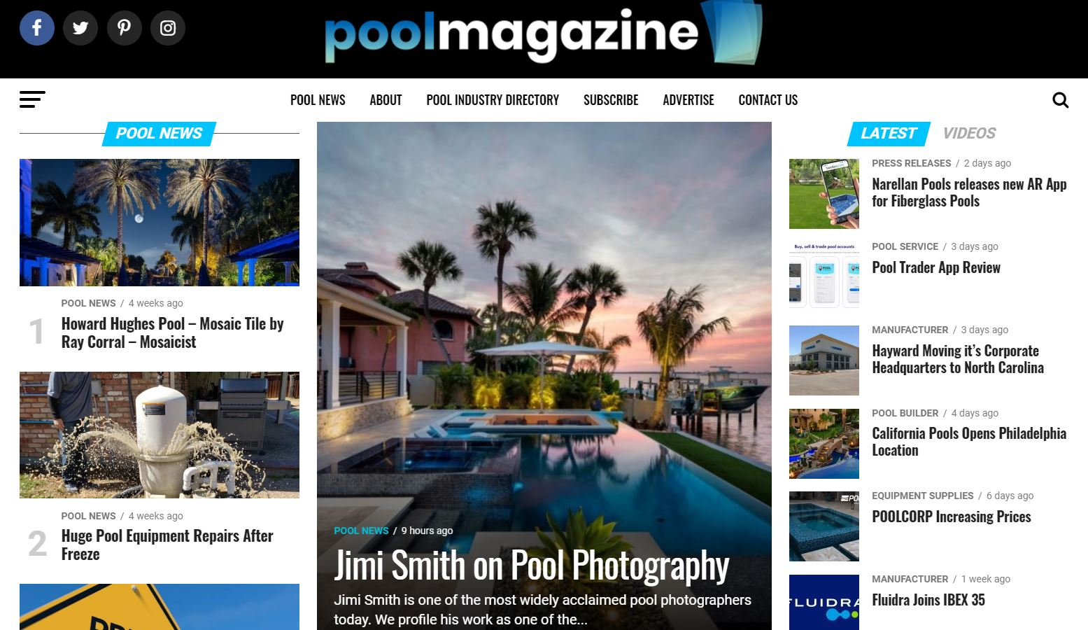 Pool Industry Veteran Launches New Magazine