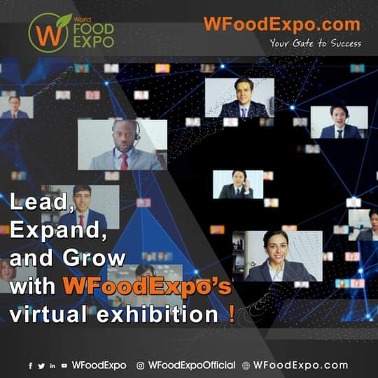 The World's Largest B2B Food, Beverage, and Agriculture Virtual Exhibition, Speaks at an International Event Via WFoodExpo's CEO Ammar Ghadban