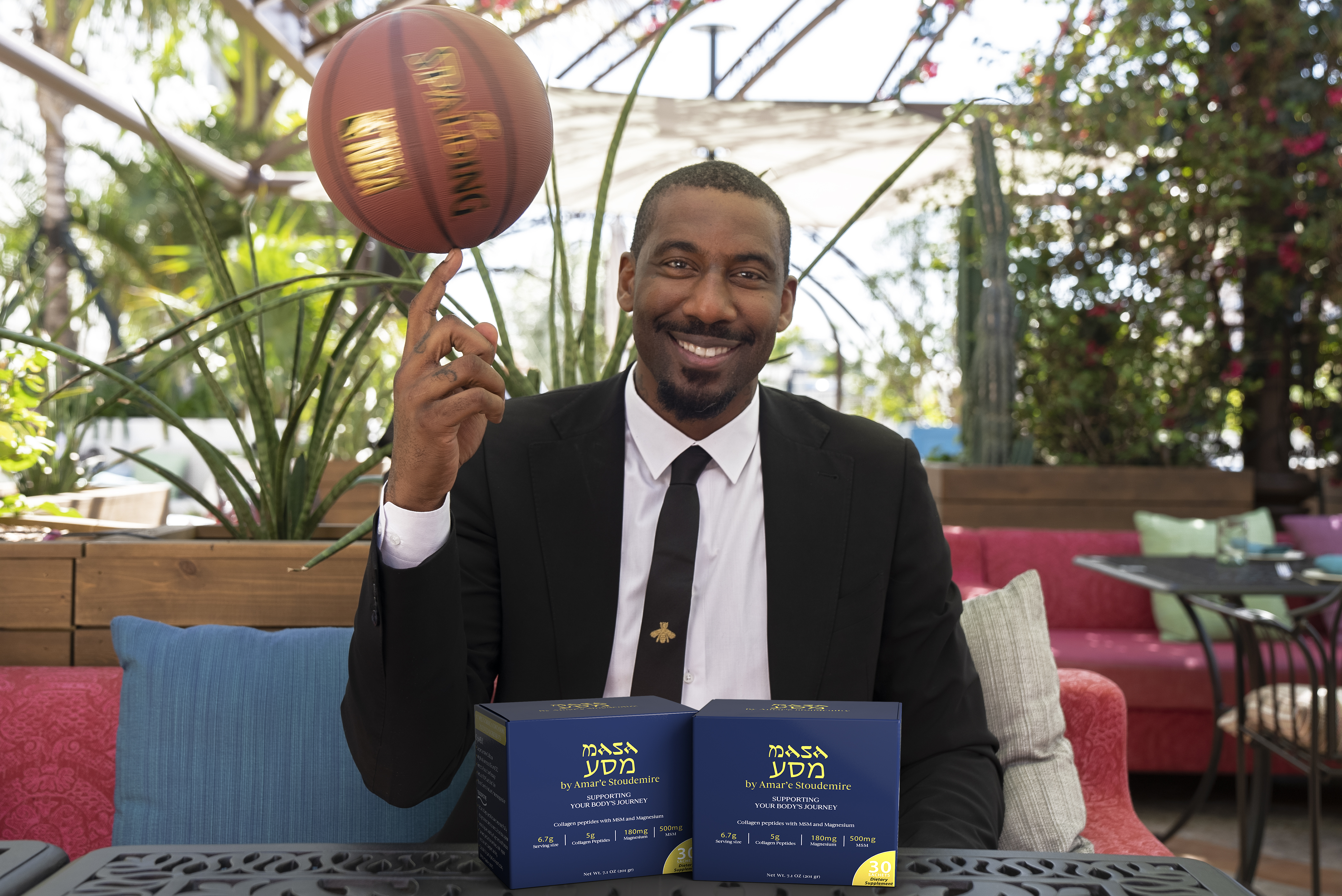 Basketball Legend Amar'e Stoudemire and Cre8or Global Partner With FanVestor to Launch New Performance Supplement MASA