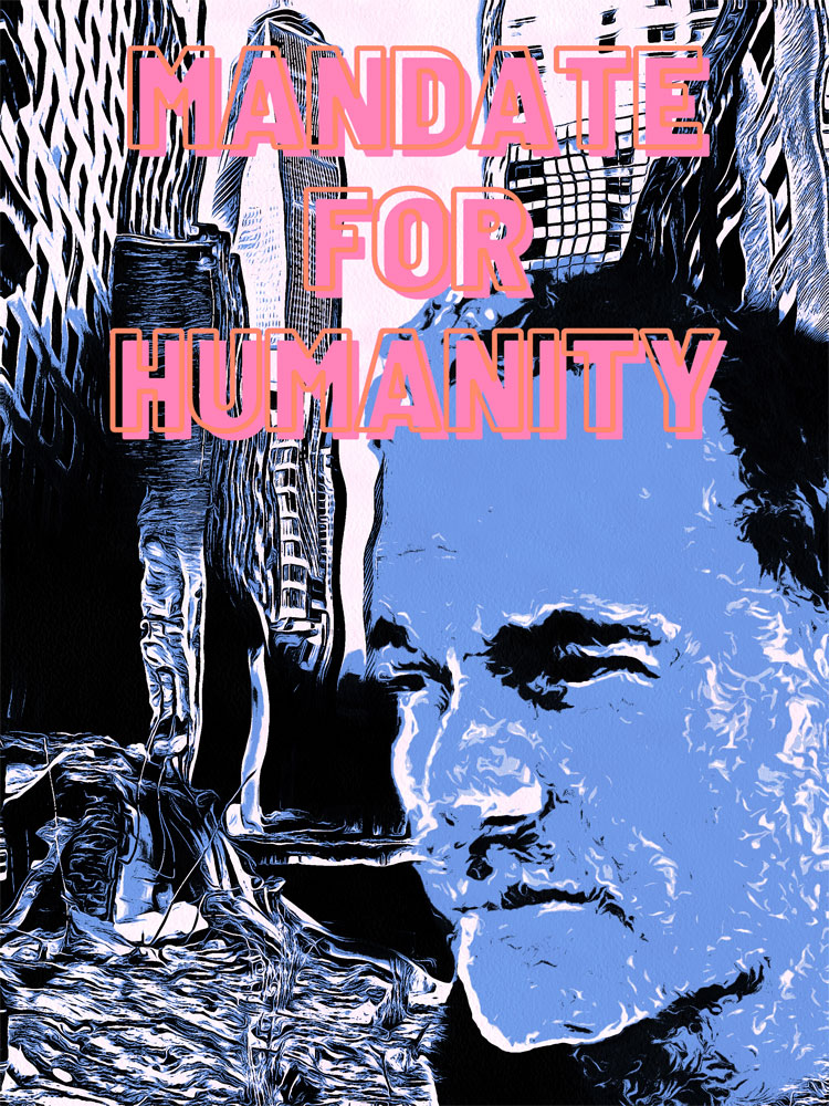 "SohoJohnny Celebrates New Comic Book Series ""Mandate for Humanity"""