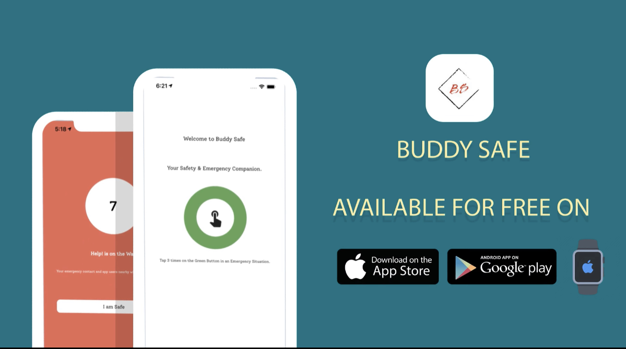 Buddy Safe Offers Users Emergency Companionship App