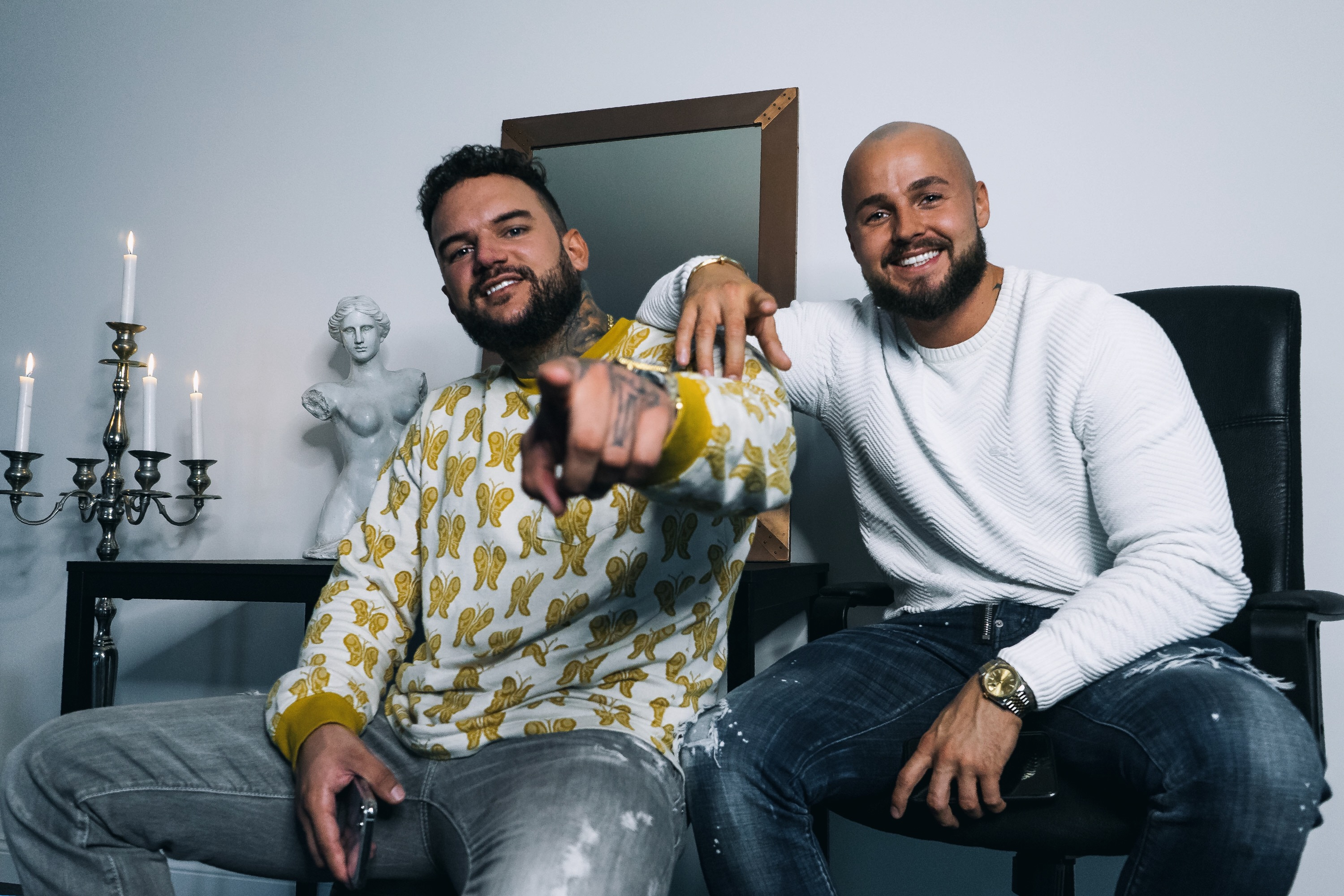 Meet The Kings Of Germany's Tattoo Space, Nicasso and Harry Weiss