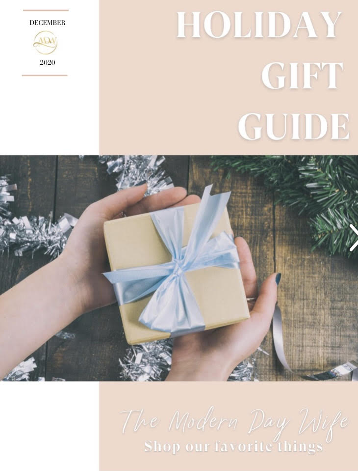 The Modern Day Wife Holiday Gift Guide