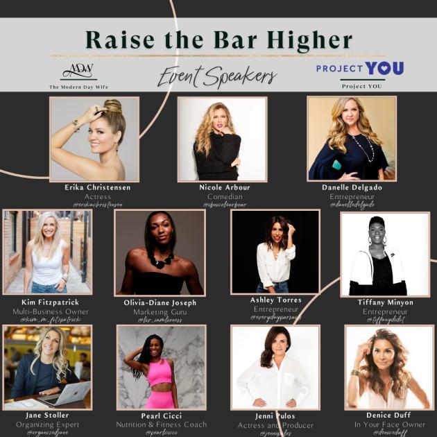 Modern Day Wife Digital Event: Raise the Bar
