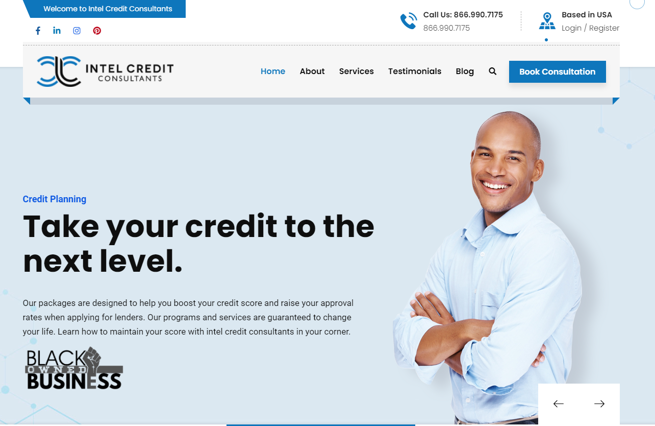 Free credit repair consultation for people in credit distress