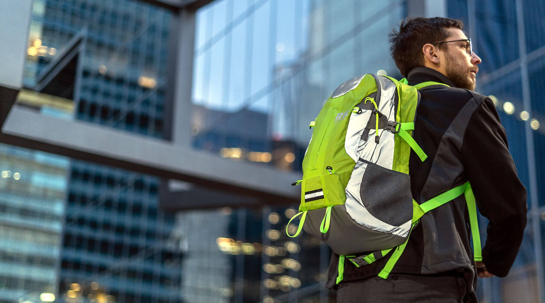 Riderbag™ Introduces Next-Generation Hi-Visibility Reflective Backpack For Bike Safety